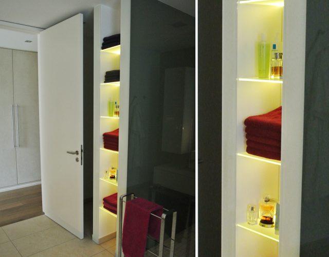 Badezimmermöbel Holz Waschtischunterschrank Holz Mdf Maßanfertigung