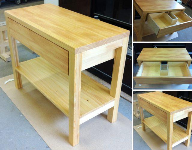 Holz Waschtischunterschrank Waschtisch Holz Mdf Maßanfertigung