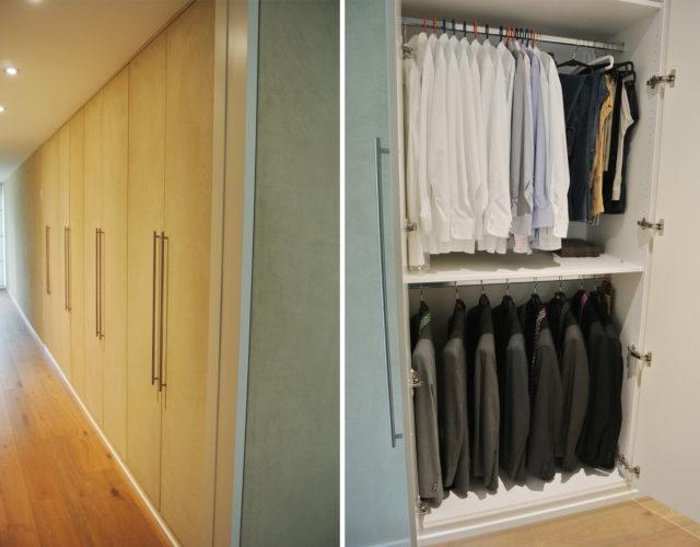 Kleiderschrank Einbauschrank Maßanfertigung Holz Mdf