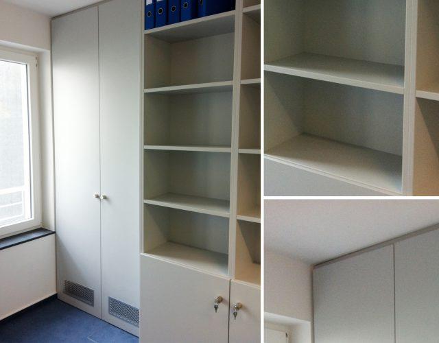 Einbauschrank Büromöbel Einbaureg