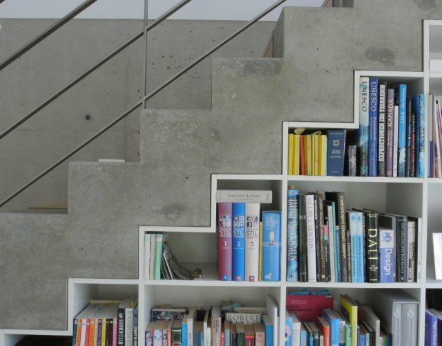Einbauschrank Bücherregal Einbauregal Holz Maßanfertigung