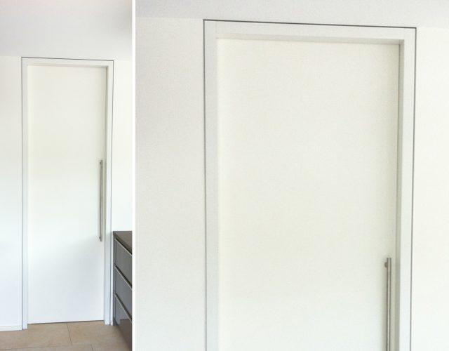 Innentür Schiebetür Holz Mdf Raumhoch Design