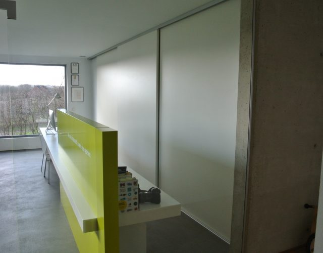 Innentür Schiebetür Holz Mdf Raumhoch Trennwand Design