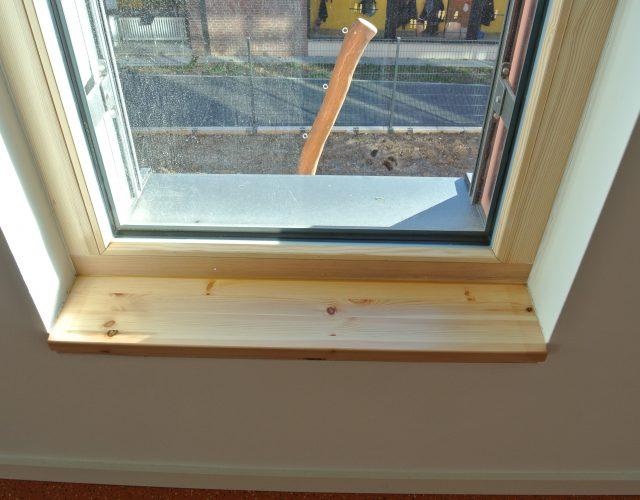 Fensterbank Holz Kiefer innen