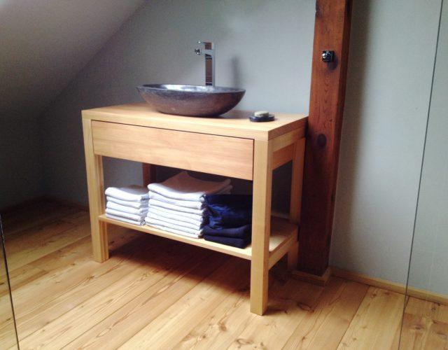 Waschtischunterschrank holz  Badezimmermöbel - Tischlerei Bechhold