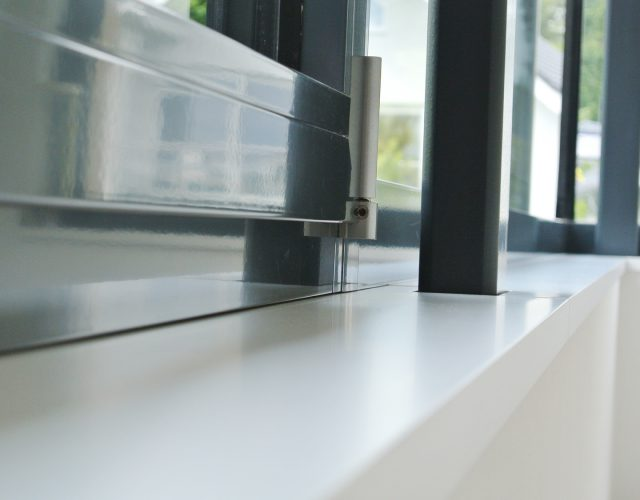 Fensterbank innen MDF Holz lackiert