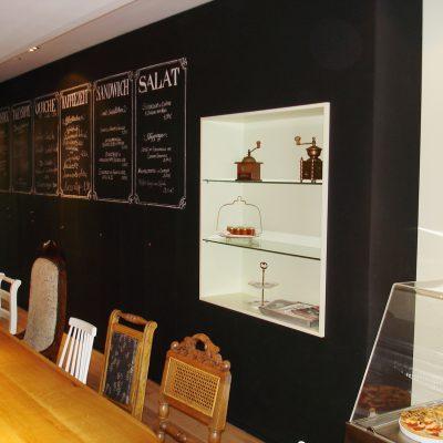 Gastronomie Küche Ladeneinrichtung Theke Thekenbau Holz Massiv Bistroeinrichtung - © 2018 Tischlerei Bechhold