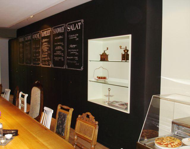 Gastronomie Küche Ladeneinrichtung Theke Thekenbau Holz Massiv Bistroeinrichtung