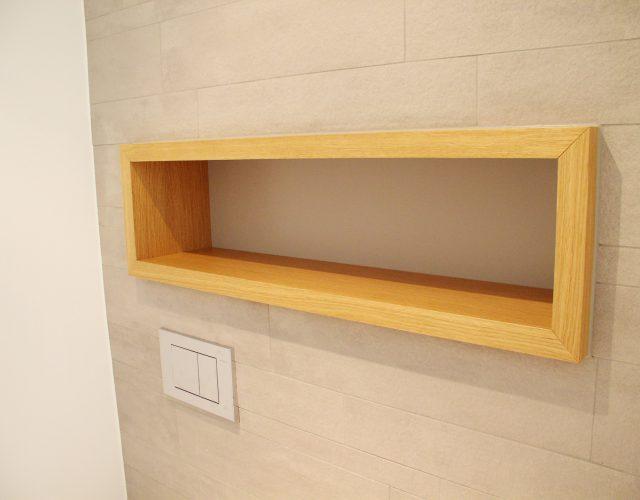 Wandregal Wandeinbauten Licht Design Wandkasten Led Holz